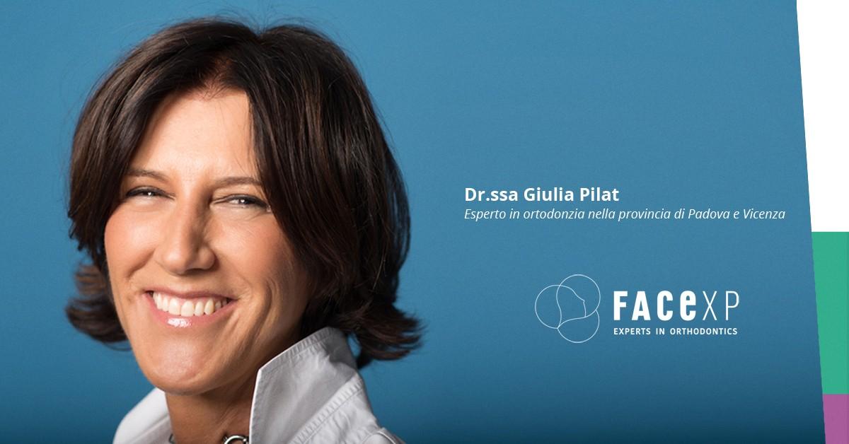Giulia Pilat esperto in ortodonzia