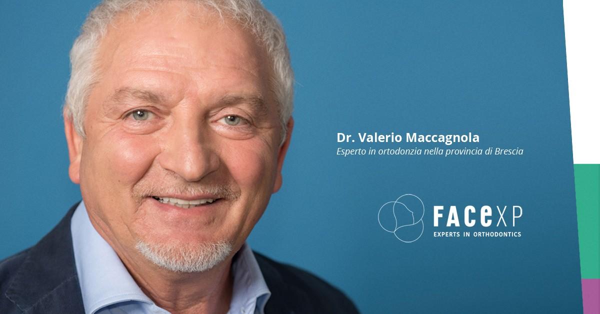 Valerio Maccagnola esperto in ortodonzia