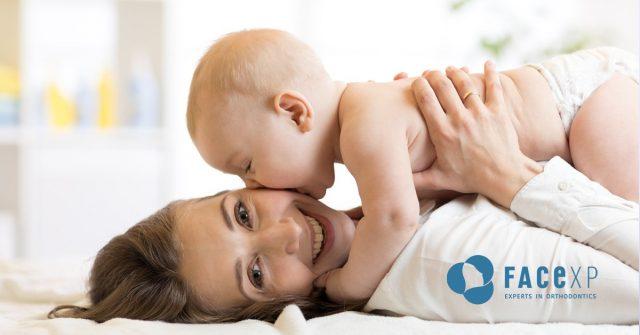 Allattamento al seno e salute orale