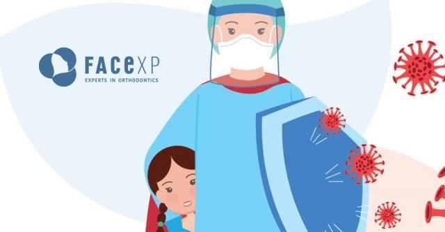 Covid-19: al sicoro con dagli ortodontisti Face Xp